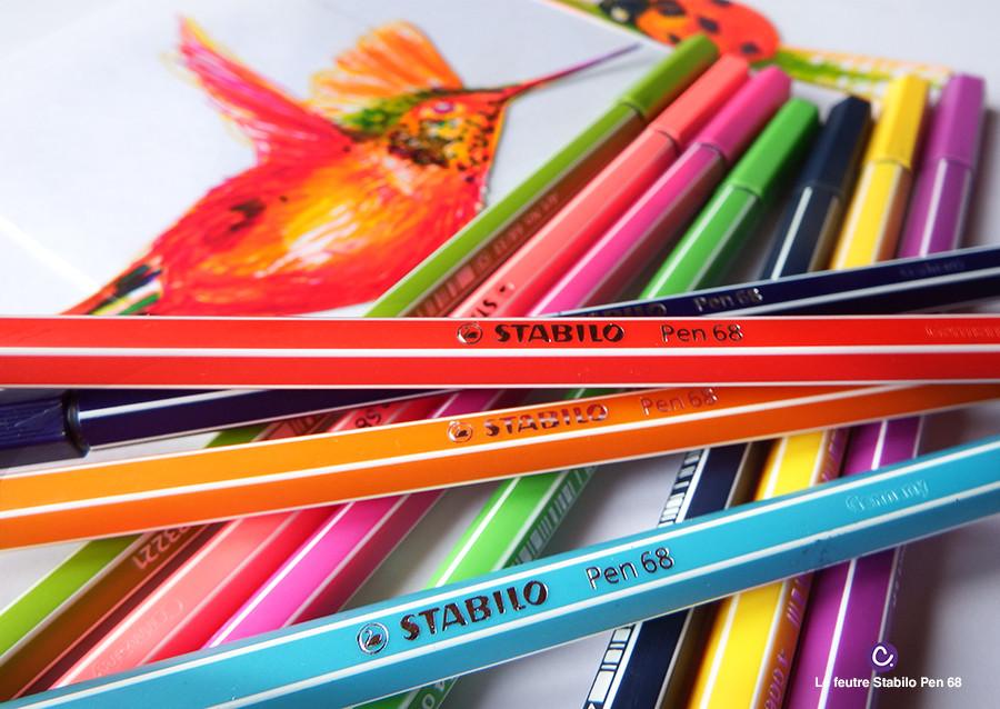 Feutre Stabilo Pen 68 - Cynthia Dormeyer