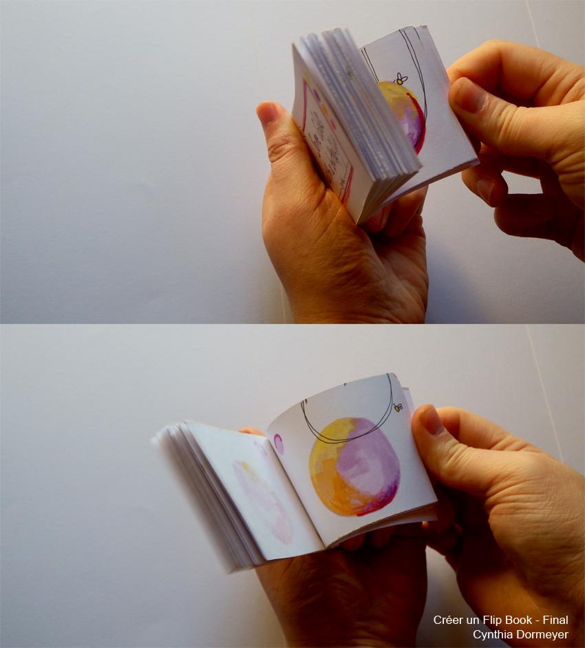 Le Flip Book - Résultat final