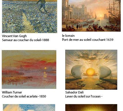 Ces peintres qui peignent le soleil