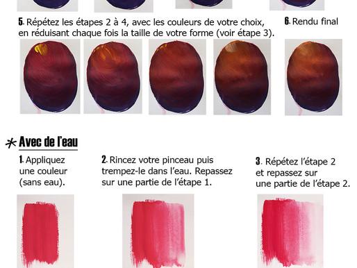 Créer un dégradé de couleur