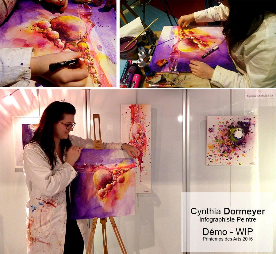Démo - Cynthia Dormeyer - Le Printemps des Arts 2016