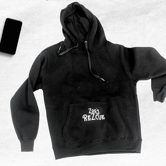 Zoo's Rezcue Sweatshirt in Black