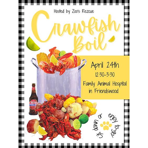 1st Annual Crawfish Boil