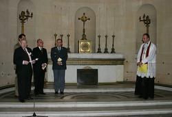 Zeremonie zur Einweihung
