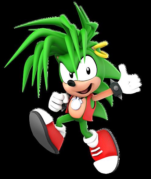 Manic The Hedgehog Render.png