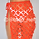 Thumbnail: 'Fairy' Square Sarong - Red