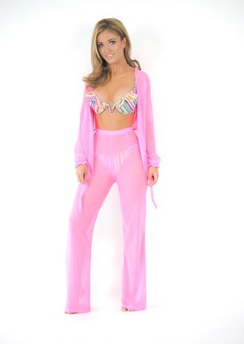 0546800183 Daytona Beach Trousers - Neon Pink