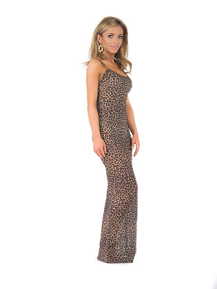 Miami Dress - Cheetah