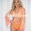 Thumbnail: 'Ibiza' Three Piece Bikini -Orange Zebra