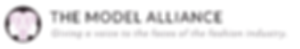 The Model Aliance Logo