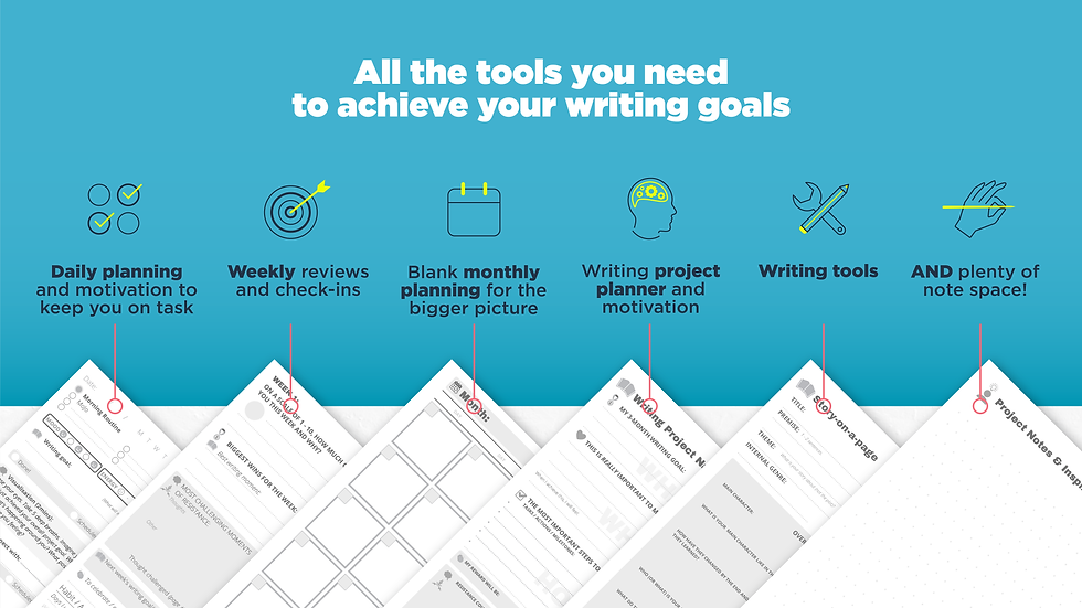 The Writer's MoJo Digital Planning Set