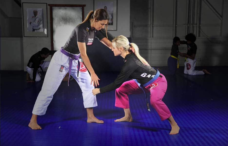 Treinamento personalizado de jiu-jítsu