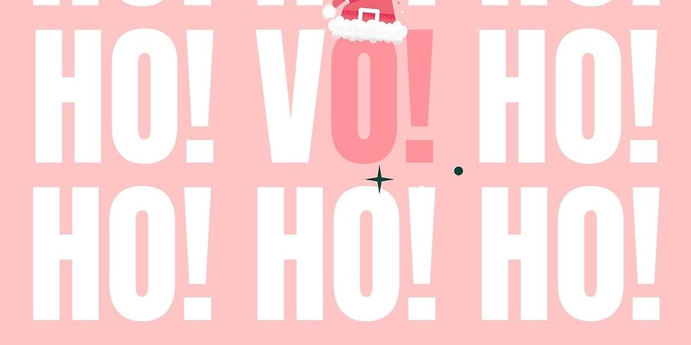 HO! HO! V.O.!  Women In VO Holiday Meetup!