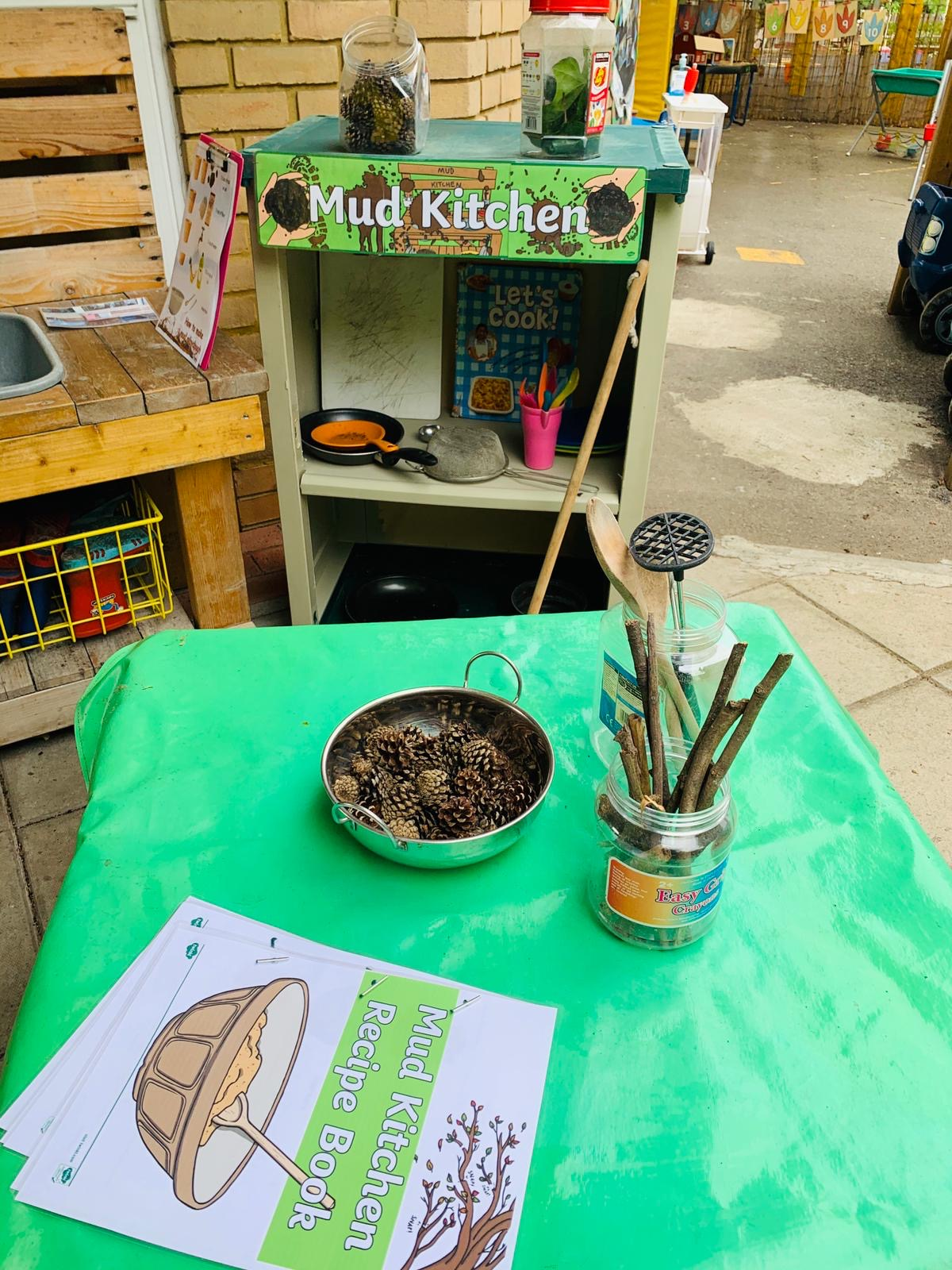 Outside Mud Kitchen