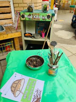 Outside Mud Kitchen