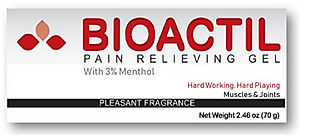 Pain relieving gel for muscles and joints