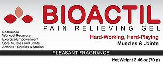 Bioactil Pain Relief Gel