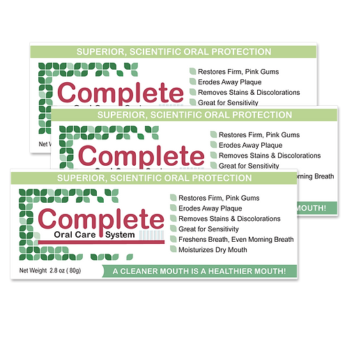 Complete Oral Care 3 Pack