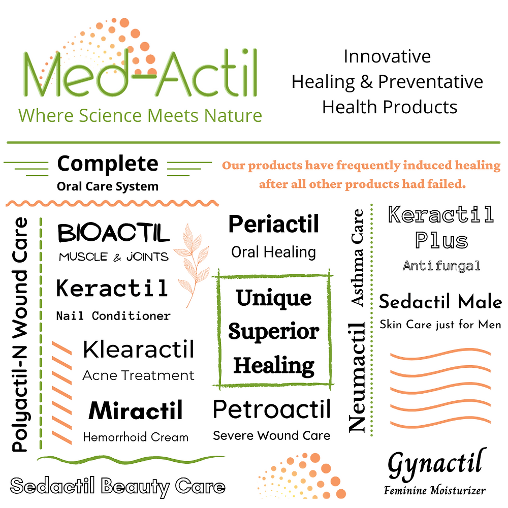 Med-Actil health and beauty products