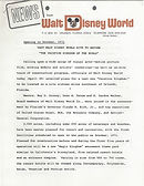 News From Walt Disney World 29 pages cov