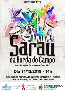 SARAU BORDA DO CAMPO