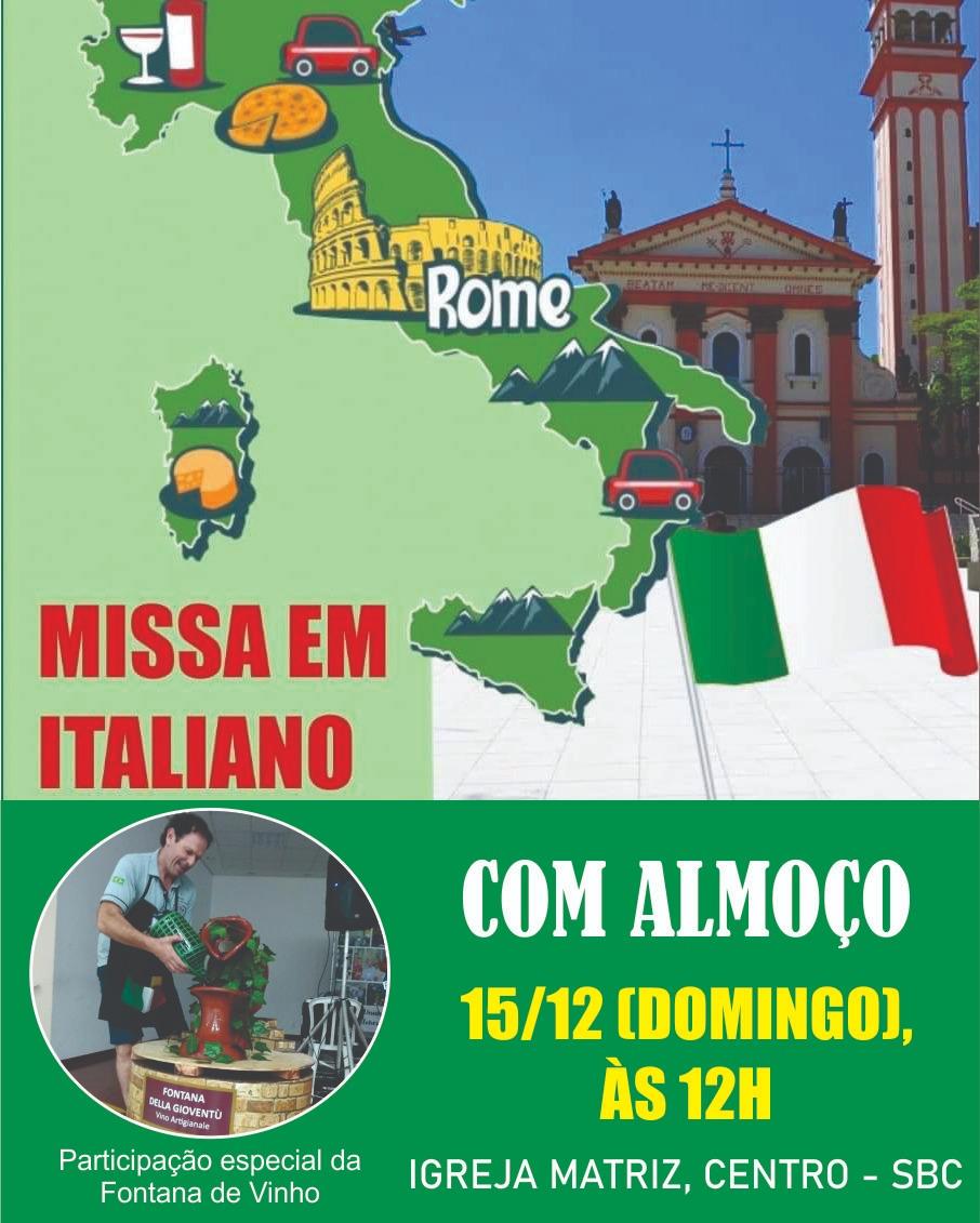 MISSA EM ITALIANO