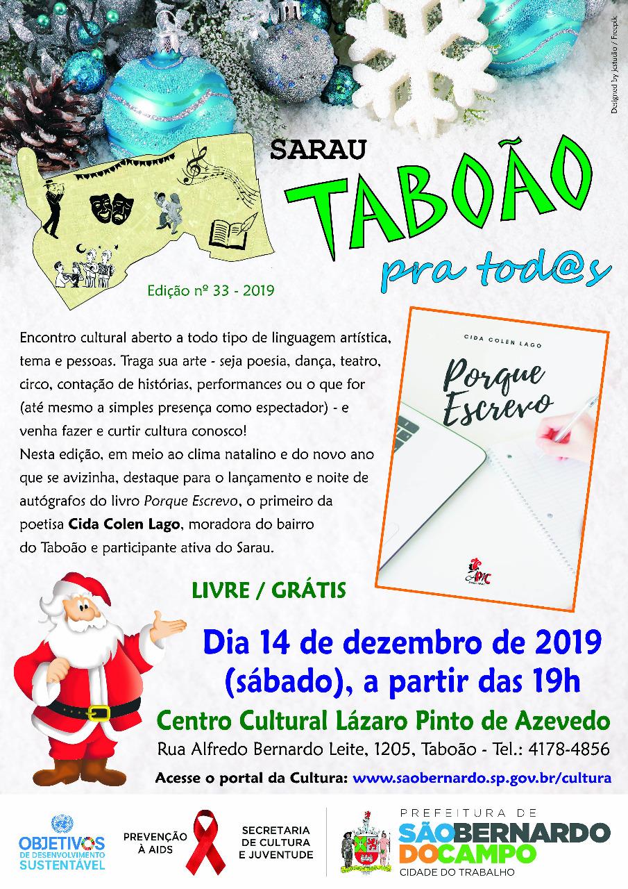 SARAU TABOÃO