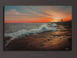 """Sawtooth Sunset"""