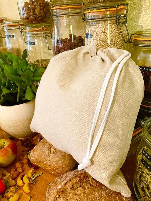 """Grand sac à vrac réutilisable """"Coton épais"""""""
