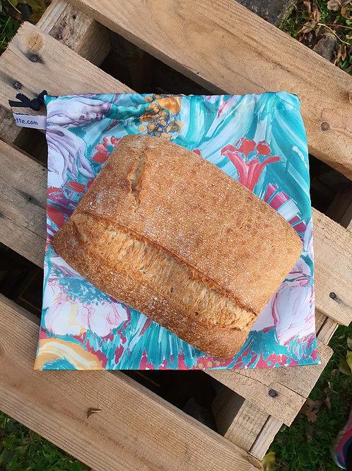 """Sac à pain rond ou pavé, réutilisable """" Zéro déchet """""""
