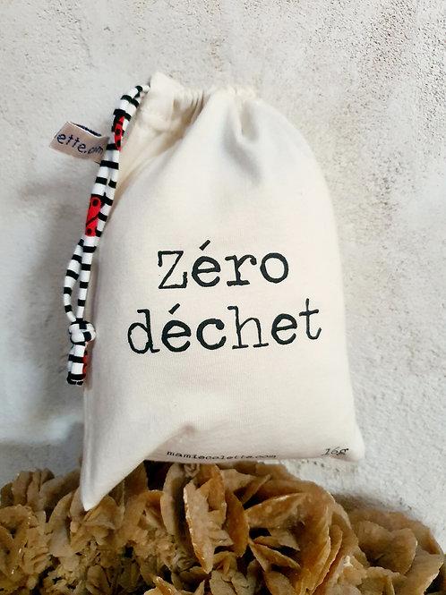 Sac à vrac réutilisable zéro déchet