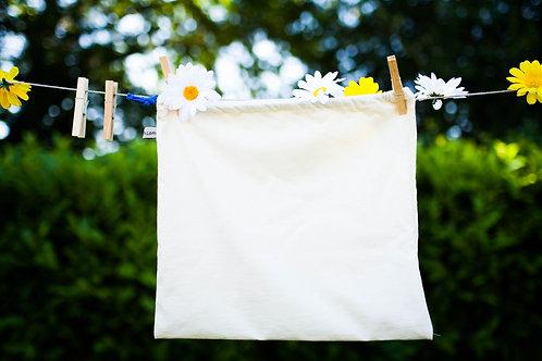 """Grand sac à vrac réutilisable """"nature"""""""