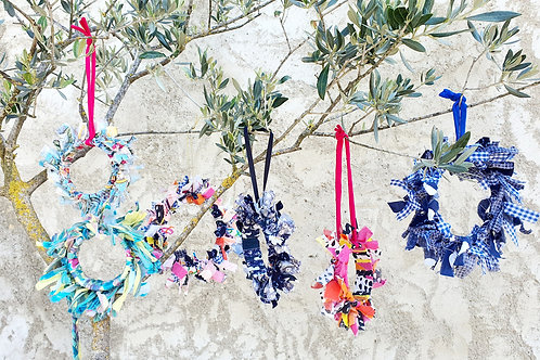 Couronne décorative upcycling
