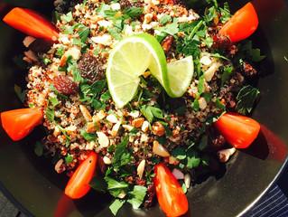 Taboulé de Quinoa aux amandes