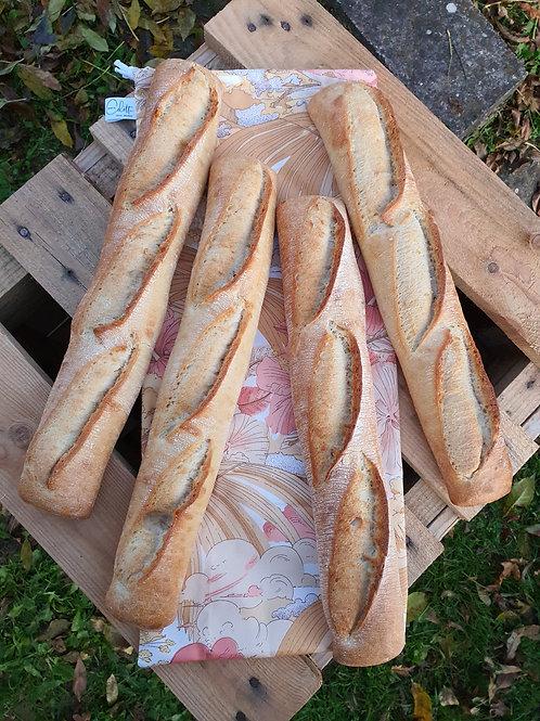 """Grand sac à pain réutilisable  """" Zéro déchet """""""