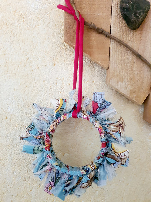 """Couronne décorative upcycling """"My Favorite"""""""
