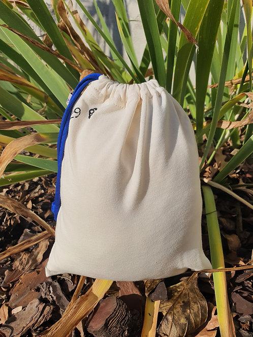 """Moyen sac à vrac réutilisable """"nature"""""""