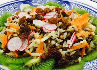 Salade zéro déchet printanière complète