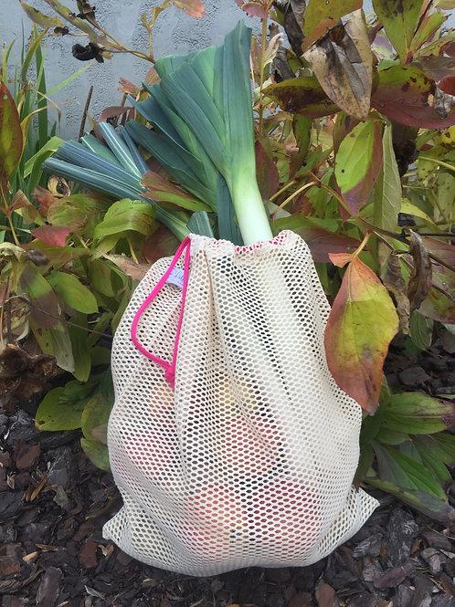 Grand sac filet en coton bio