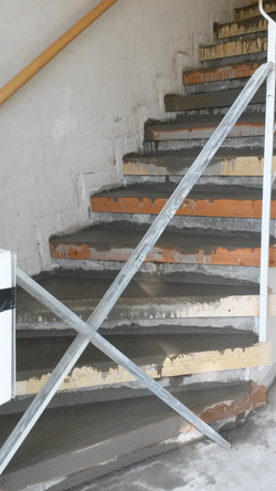 Treppen ausgleichen