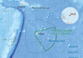 海を守る動き ニウエも大きな海洋保護区設定