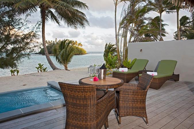 クック諸島 ラロトンガ島 ノーチラスリゾート  ムリビーチ