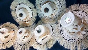 クック諸島誇る芸術品!?  椰子の葉を編んだリト製品