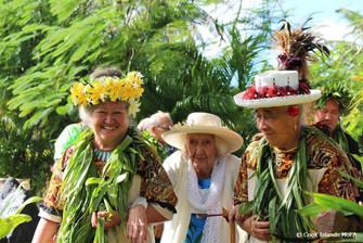 伝説の女性アリキ(酋長)98歳で亡くなる。国葬が行われました。