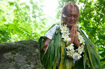 クック諸島の伝説&ヒーロー パさんのスピリチュアルな姿
