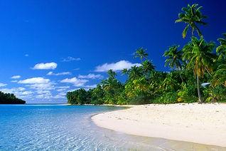 クック諸島アイツタキ島ワンフットアイランド