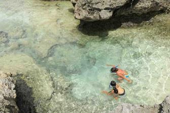 ラロトンガ島のシュノーケリングのおすすめポイント