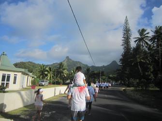 ペイント&ラン!島のチャリティーイベント
