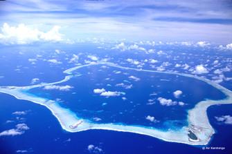 スワロー環礁 島民2人&野生動物の宝庫
