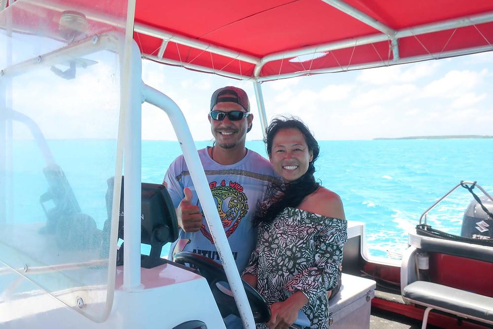 クック諸島 アイツタキ島 ワンフットアイランド サンドバー ラグーンクルーズ